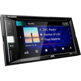 Multimedia-receiver TFT, Bluetooth: Ja KWV250BT