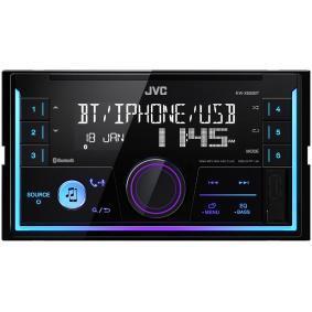 Stereo Osiągi: 50x4W KWX830BT