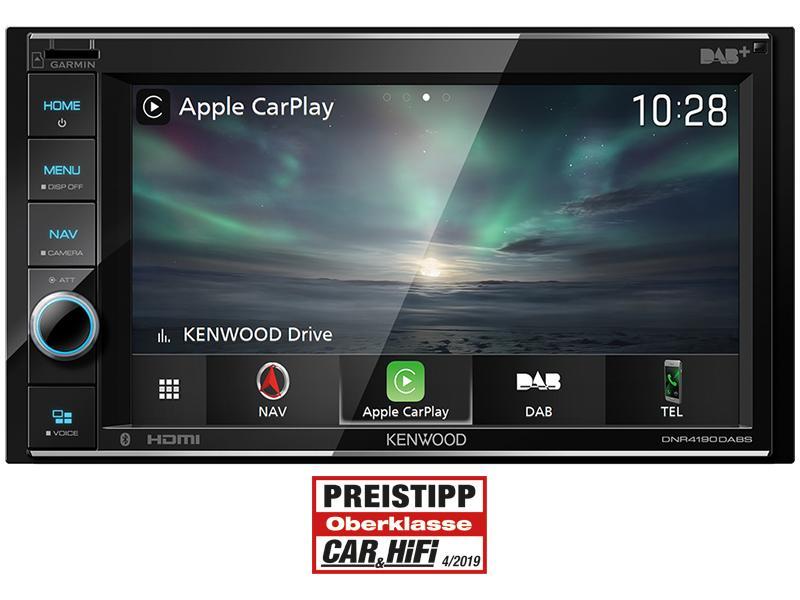 Multimedia-Empfänger KENWOOD DNR4190DABS 0019048226440