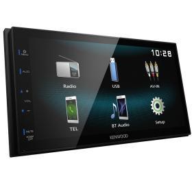 Multimediamottagare TFT, Bluetooth: Ja DMX120BT