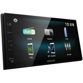 Multimedia-receiver TFT, Bluetooth: Ja DMX125DAB