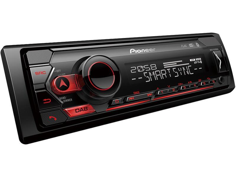 auto radio PIONEER MVH-S420DAB Bewertung
