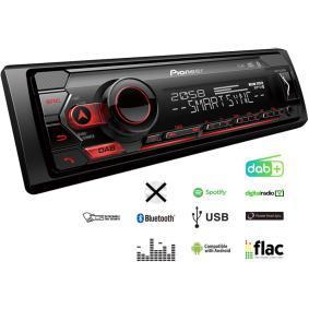 Stereo vykon: 4x50W MVHS420DAB