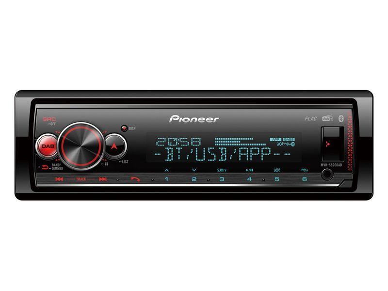 radio PIONEER MVH-S520DAB Erfahrung