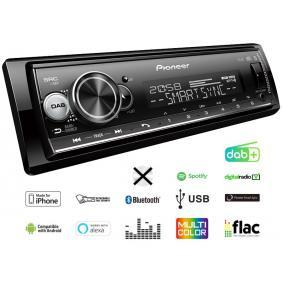 Stereo vykon: 4x50W MVHS520DAB