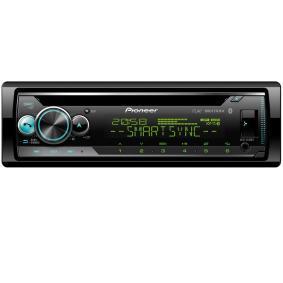 Stereo Potenza: 4x50W DEHS510BT