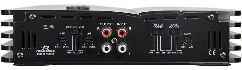 Audioförstärkare RENEGADE RXA550 Expertkunskap