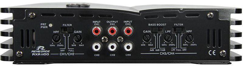 Audioförstärkare RENEGADE RXA1100 rating