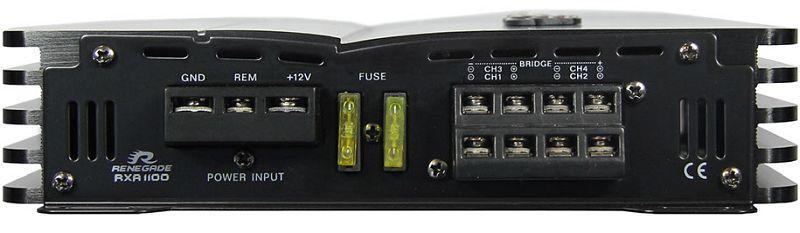 Audioförstärkare RENEGADE RXA1100 Expertkunskap