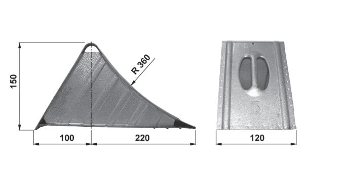 Cunei bloccaruote ALU-SV S100336200 valutazione