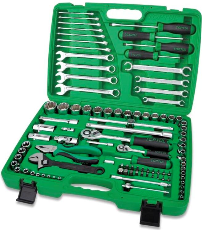 Werkzeugsatz GCAI9602 TOPTUL GCAI9602 in Original Qualität