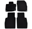 Floor mat set A041HON110PRM01 MAMMOOTH Textile, Tailored, Front and Rear, Quantity: 4, Black