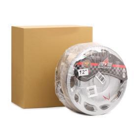 ARGO  12 TINO Hjulkapsler Mængdeenhed: sæt, sølv