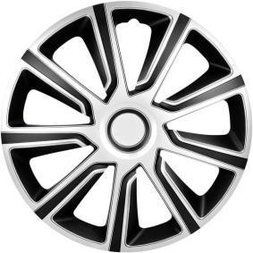Hjulkapsler Mængdeenhed: sæt, sort/sølv 13COSMOSILVERBLACK