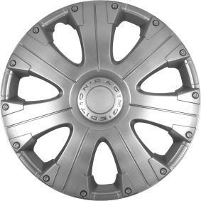 Капаци за колела единица-мярка за количество: комплект, сребърен 13RACING