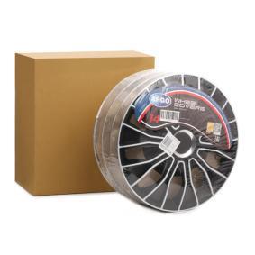 Hjulkapsler Mængdeenhed: sæt, sort/sølv 14VOLTECPRO