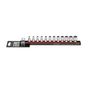 "Socket Set Square Drive Tang Size: 6.3 (1/4"")mm (inch), Spanner size: 10, 11, 12, 13, 4, 4.5, 5, 5.5, 6, 6pt., 7, 8, 9"