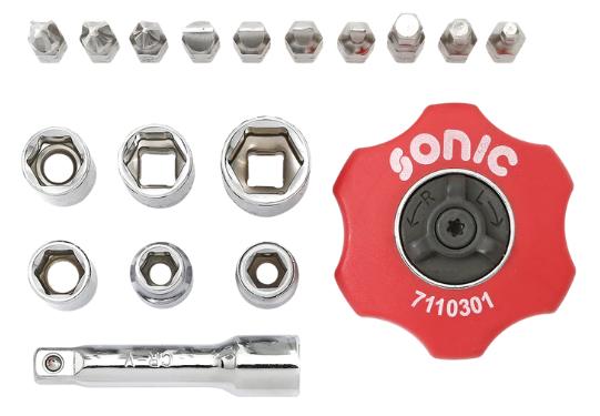 Werkzeugsatz SONIC 101901 Bewertung