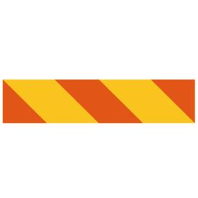 Marcas de aviso 55RAL
