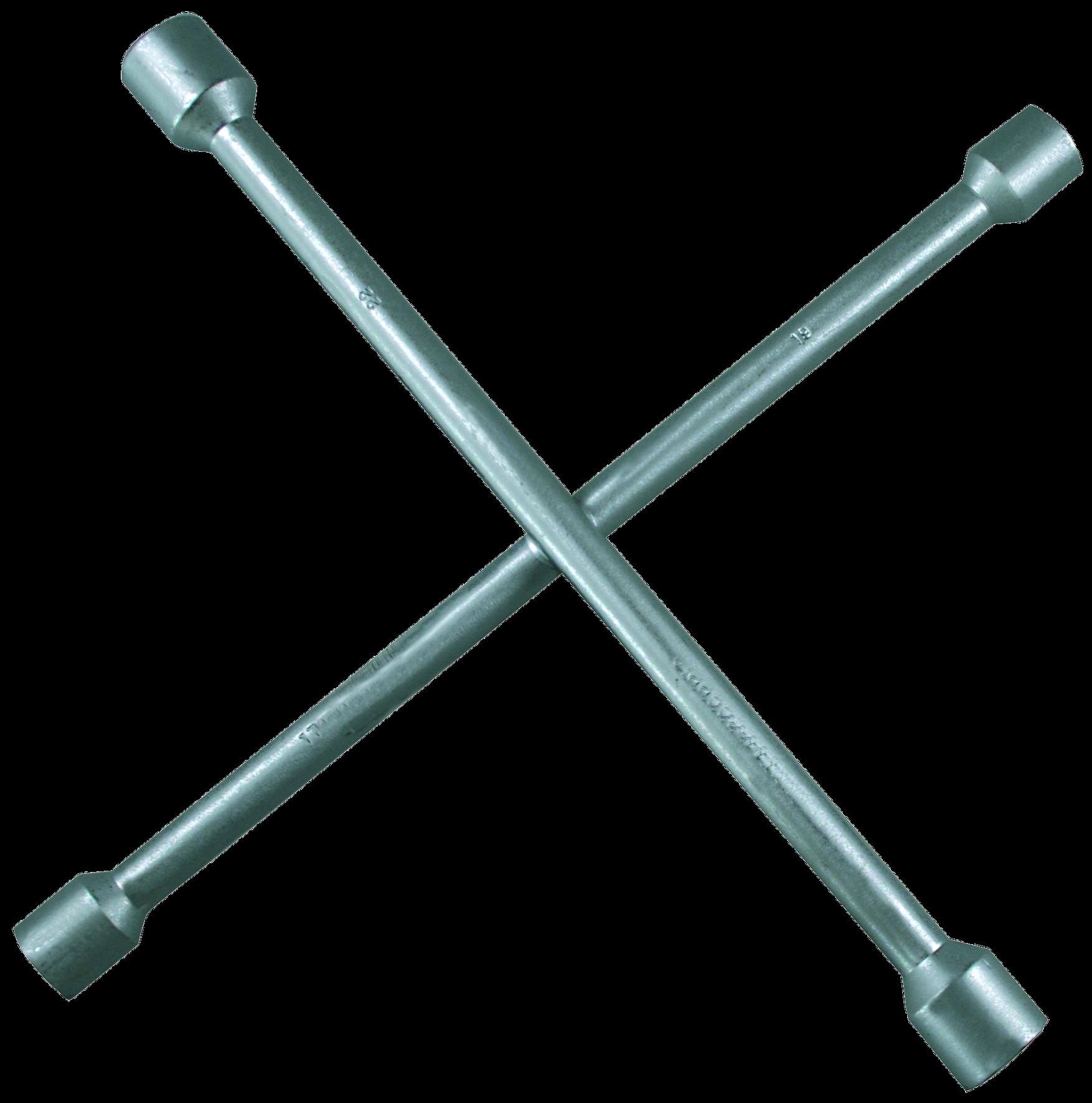 SW-Stahl  02102L Four-way lug wrench Length: 335mm