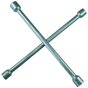 Four-way lug wrench Length: 335mm 02102L