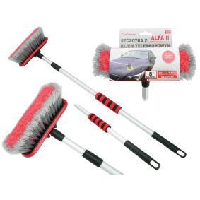 Interior detailing brushes Tool handle material: Aluminium 42661