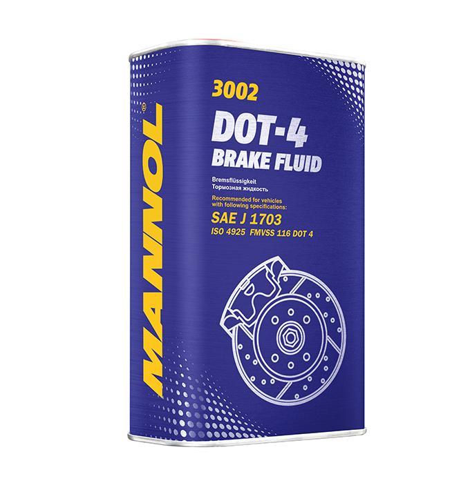 MANNOL Brake Fluid DOT-4 MN3002-1ME Bremsflüssigkeit