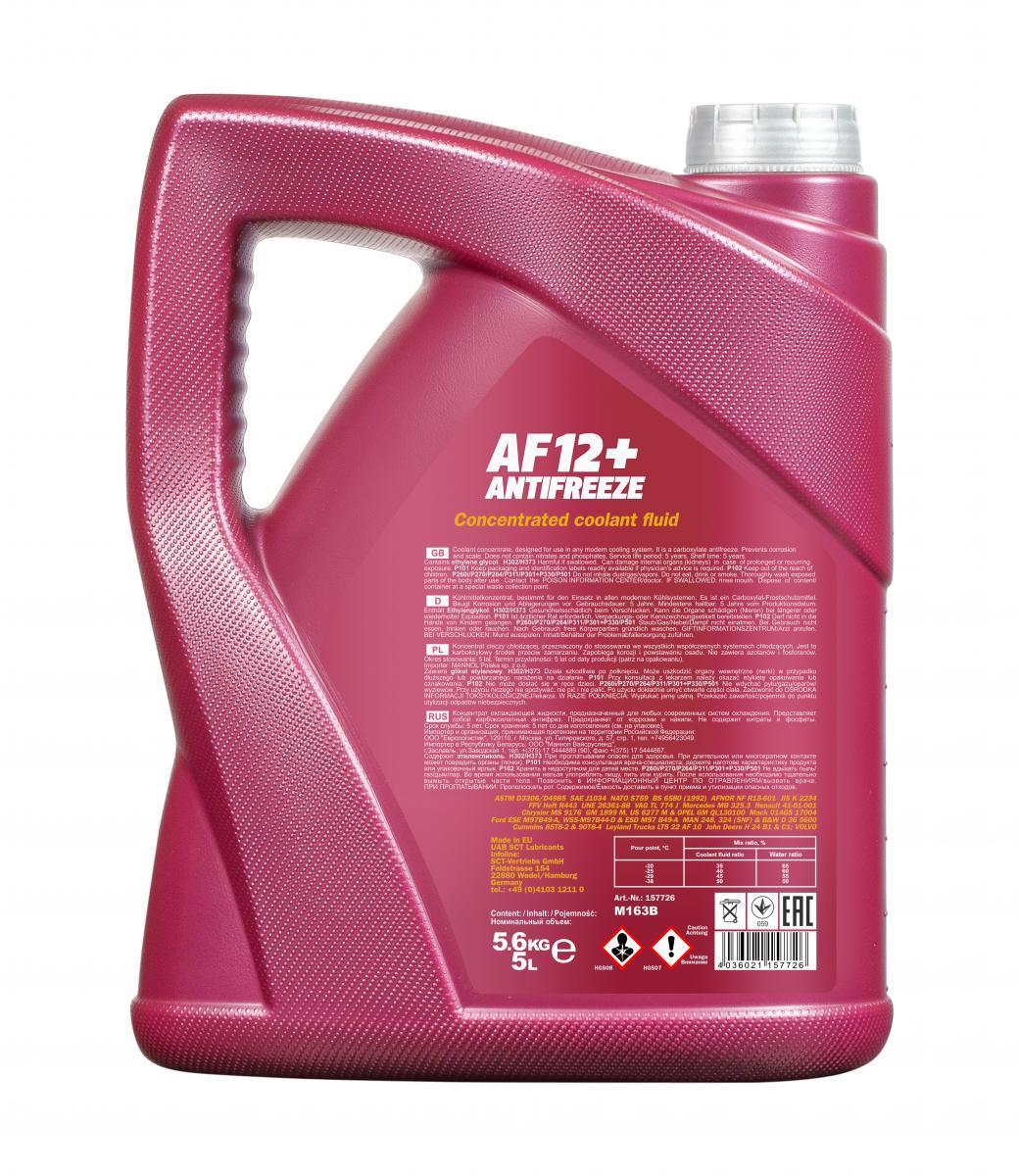 Glycol antifreeze MANNOL MN4112-5 rating