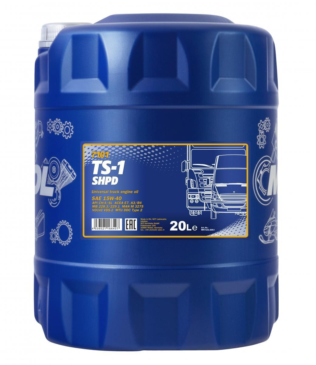 MANNOL TS-1, SHPD MN7101-20 Motoröl