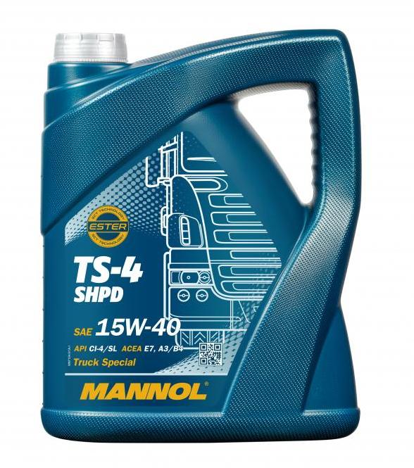MANNOL TS-4, SHPD MN7104-5 Motorolaj