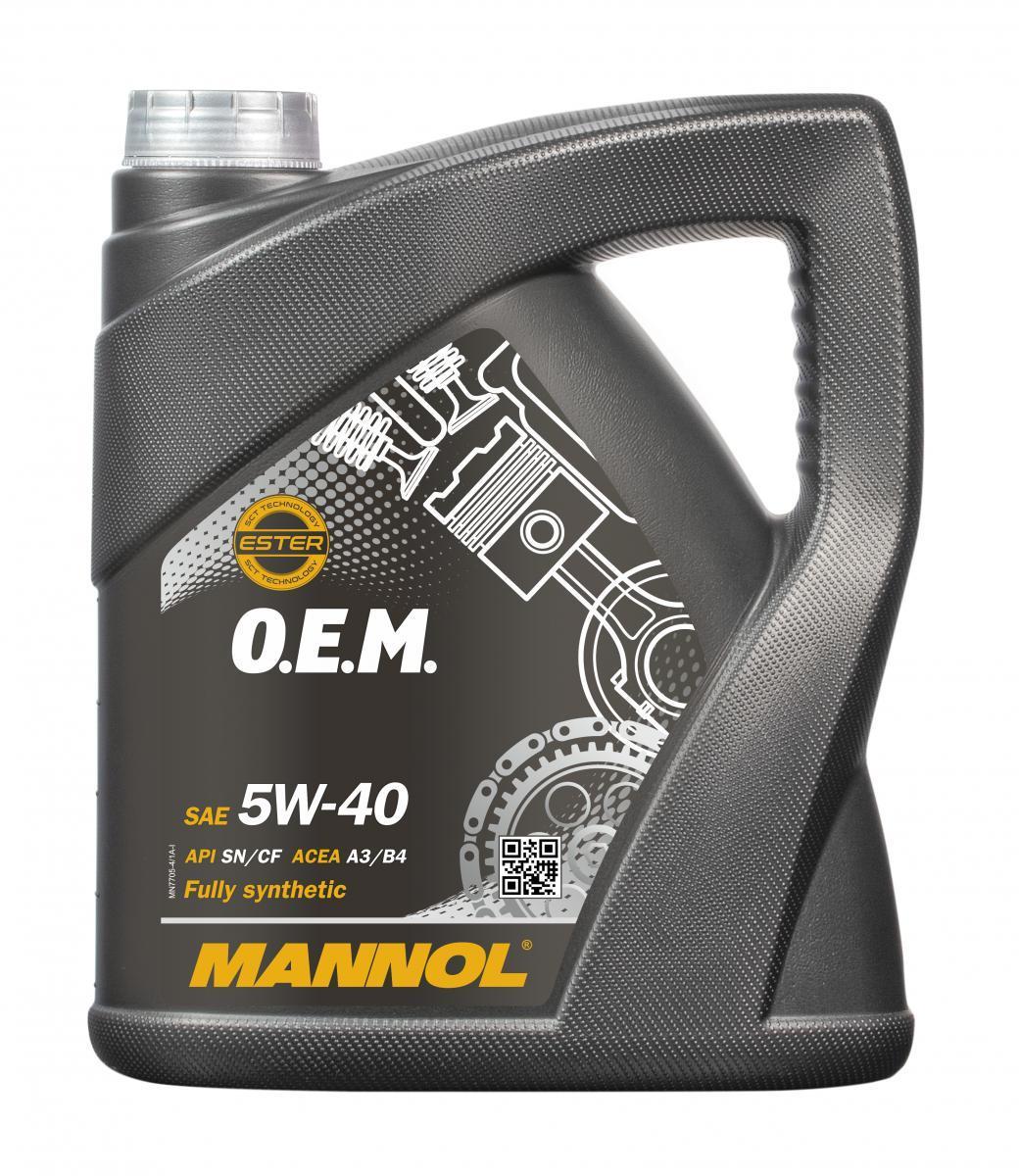 MANNOL O.E.M. MN7705-4 Engine Oil