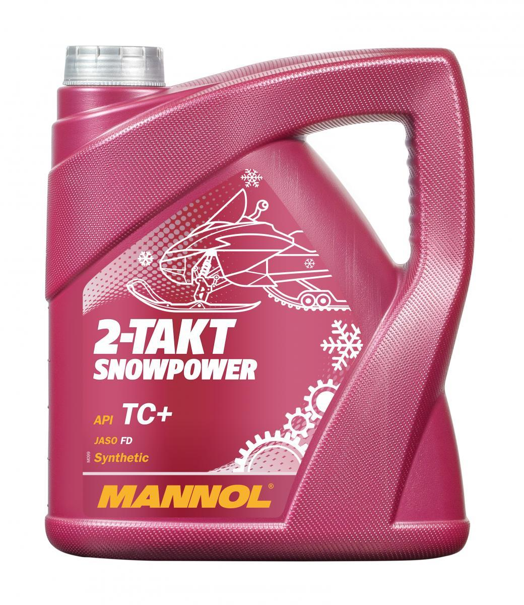 MANNOL Snowpower MN7201-4 Motoröl