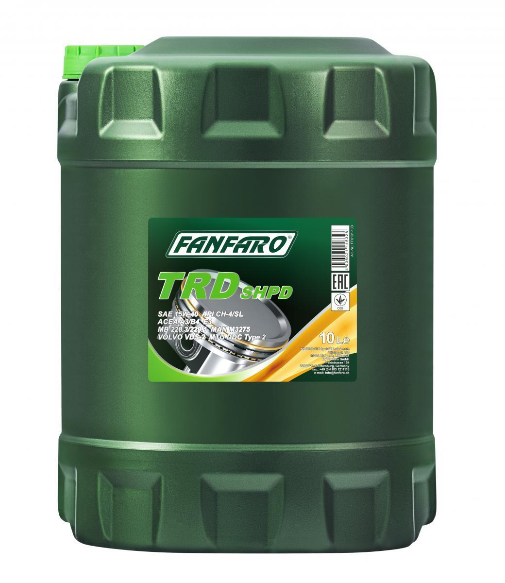 FANFARO SHPD, TRD FF6101-10 Motoröl