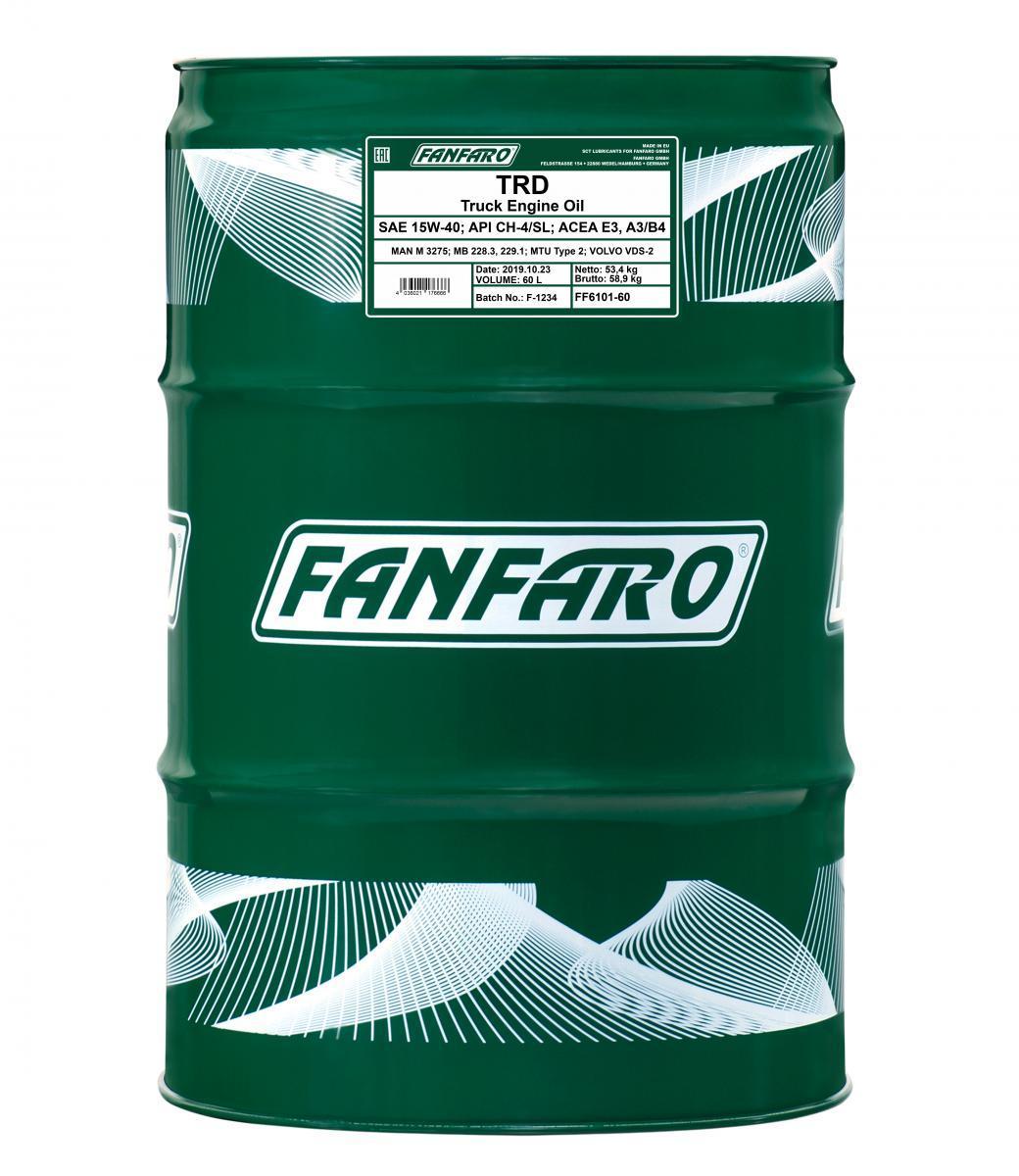 FANFARO SHPD, TRD FF6101-60 Motoröl