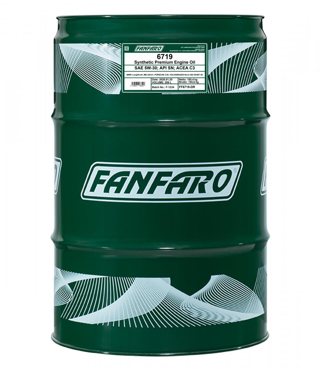 FANFARO O.E.M. Line, 6719 Longlife FF6719-DR Motorolaj