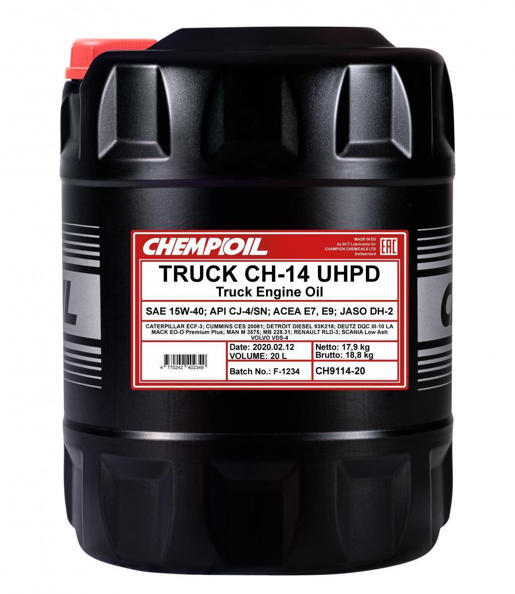 CHEMPIOIL TRUCK, CH-14 UHPD CH9114-20 Motoröl