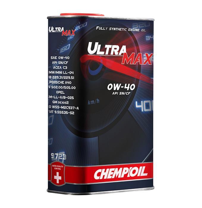 CHEMPIOIL Ultra, MAX CH9723-1ME Motoröl