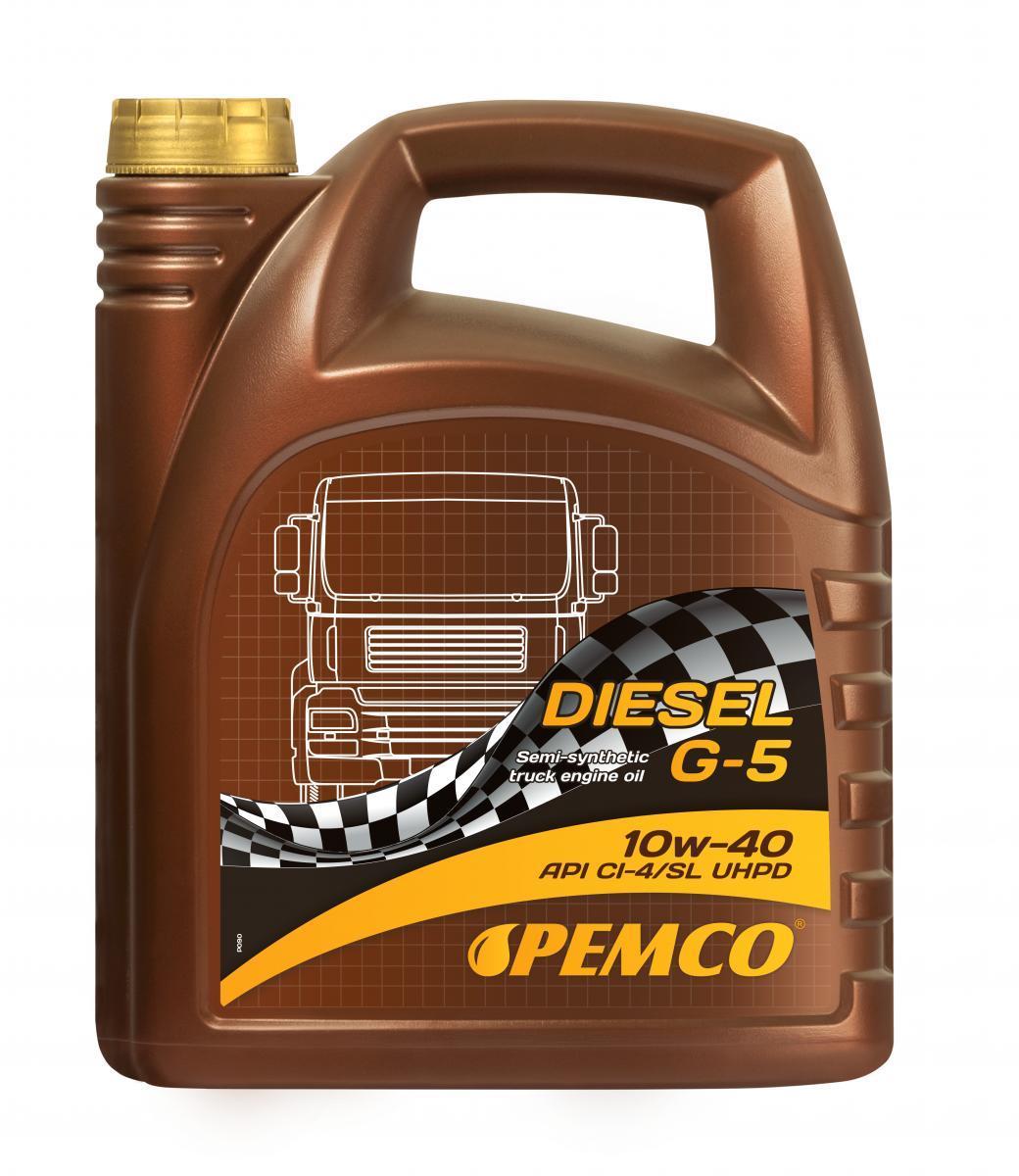 PEMCO Truck UHPD, DIESEL G-5 UHPD PM0705-5 Motoröl