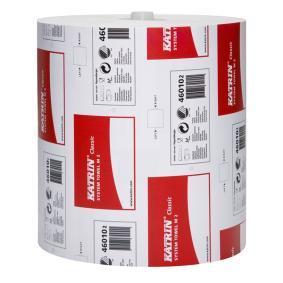 Papir aftørringsrulle 46010
