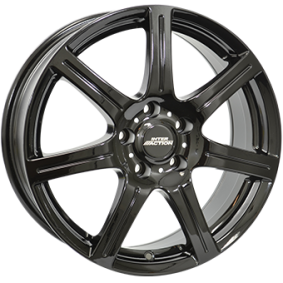 alloy wheel INTER ACTION SIRIUS schwarz glanz 14 inches 4x098 PCD ET35 IT60945513558BF