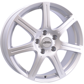 alloy wheel INTER ACTION SIRIUS brilliant silver painted 14 inches 4x100 PCD ET35 IT60945523501SF