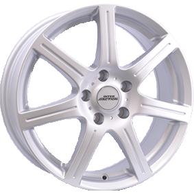 алуминиеви джант INTER ACTION SIRIUS брилянтно сребърно боядисани 14 инча 4x100 PCD ET42 IT60945524201SF
