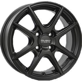 alloy wheel ANZIO SPLIT MattSchwarz / Poliert 14 inches 4x100 PCD ET43 SPL55443A24-5