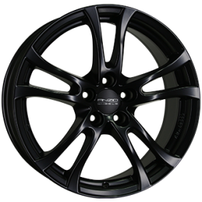 alloy wheel ANZIO TURN Matte black/polished 14 inches 4x108 PCD ET40 TU55440A34