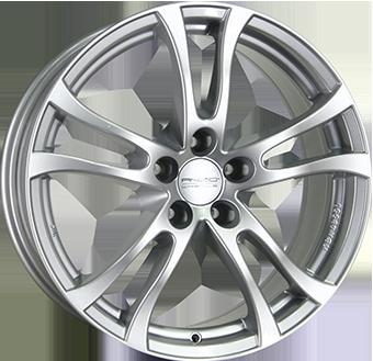 ANZIO TURN брилянтно сребърно боядисани алуминиеви джант 5,5xR14 PCD 5x100 ET38 d57,1