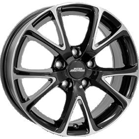 alloy wheel INTER ACTION PULSAR Schwarz Glanz / Poliert 15 inches 4x098 PCD ET35 IT63156013558BC