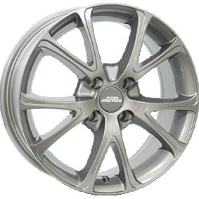 alloy wheel INTER ACTION PULSAR Grau Glanz 15 inches 4x100 PCD ET42 IT63156024201GF