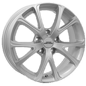 алуминиеви джант INTER ACTION PULSAR брилянтно сребърно боядисани 15 инча 4x100 PCD ET42 IT63156024201SF