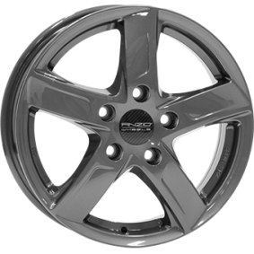 alloy wheel ANZIO SPRINT Antraciet Dunkel 15 inches 4x108 PCD ET23 SPT60523CP17-6