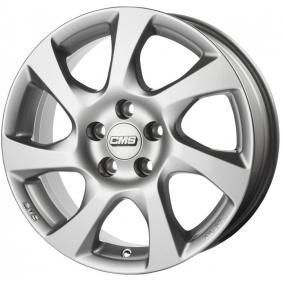 alloy wheel CMS brilliant silver painted 15 inches 4x108 PCD ET23 C24 605 23 35 CS